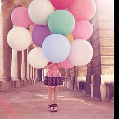 Love the giant balloons!