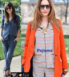 Pajamas in public! read more at http://lemotsupreme.blogspot.in/2013/02/pajamas-in-public-trend-report.html
