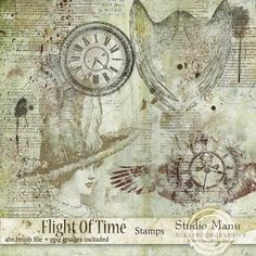 Flight Of Time - Stamps