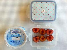 día9 En casa: leche con copos de avena En la guarde: yogur natural y cerezas