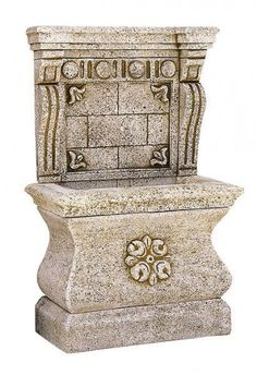 Fountains in the garden - the best manufacturers and sellers - Garden Design Ideas Garden Design, Decorative Boxes, Good Things, Display, Stone, Design Ideas, Home Decor, Wall Fountains, Water Fountains
