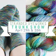 Omg omg you guys! Look who is coming to the shop this April! It's @amyflorence  you know her from her amazing yarn Stranded Dyeworks and the podcast of the same name! Come squish samples and buy yarn! // #strandeddyeworks #strandedpodcast #northsomersetart #northsomersetartsweek #nsaw17south #northsomerset #alterknituniverse #auyarns // From our shop account: @AUshopUK follow us for more fun peeks into our shop near Bristol UK. http://ift.tt/1SPuuxi We're the wool shop in Cleeve with the big…