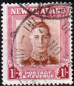 New Zealand 1947 SG 686c Fine Used SG 686c Scott 265 Other King George VI Stamps HERE