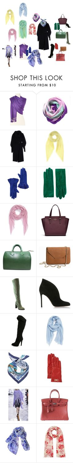 """Аксессуары к пальто1"" by knv9077 on Polyvore featuring мода, La Fiorentina, Plein Sud, Jardin des Orangers, Vincent Pradier, Christian Dior, Nordstrom, Louis Vuitton, Filippa K и Gianvito Rossi"