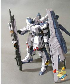 FX-93 Hi-Nu Gundam HWS Gundam Papercraft, Paper Toys, Paper Crafts, Mobile Suit, Paper Models, Crafty, Robots, Design, Awesome