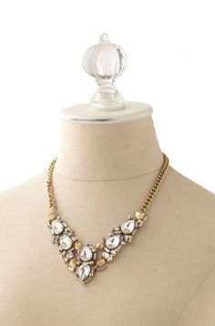 Zora Crystal Necklace by Stella & Dot