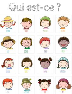 Game of Who is it in autonomy The shrimp school Games For Kids, Activities For Kids, Core French, French Classroom, French Resources, English Activities, French Lessons, Teaching French, Learn French