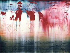 GERHARD RICHTER ~ reminds me of skating on an outdoor rink!