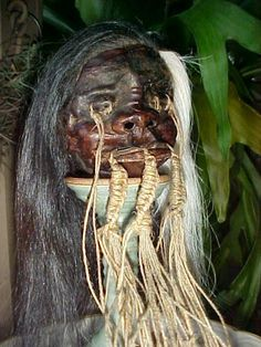 A shrunken head is a severed and specially prepared human head that is used for trophy, ritual, or trade purposes.