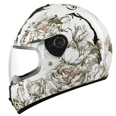 2013 Shark S600 Season Ladies Womens Motorcycle Full Face Helmet Ghostbikes   eBay