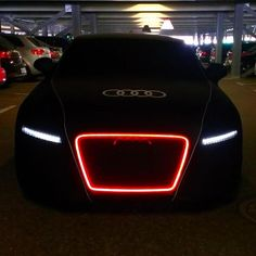 Anything about an Audi car works for me...but check out this Audi TT RS Coupe Wothersee #black #glow