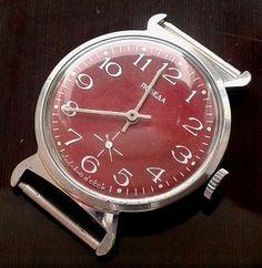 Rare Vintage Russian USSR Pobeda mecanical 2602 watch #Pobeda