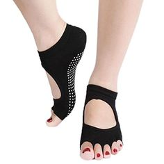 Sanwood Toe Exercise Barre Sock Pilates Yoga Socks with G... https://www.amazon.com/dp/B017SQZQES/ref=cm_sw_r_pi_dp_InzHxbTGEECWV