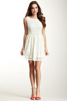 JUMP Girl Sleeveless Lace Dress