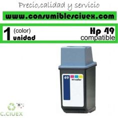 CARTUCHO DE TINTA COMPATIBLE CON HP 49 http://www.consumiblesciuex.com/hp-49-compatible/719-cartucho-de-tinta-compatible-con-hp-49.html