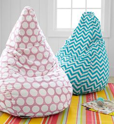 Image of: Diy Bean Bag Chair Designs...maybe something like this next to window seat?
