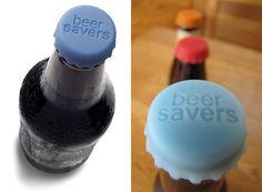 Beersavers Beer Bottle Cap - seems handy for all glass bottles :)