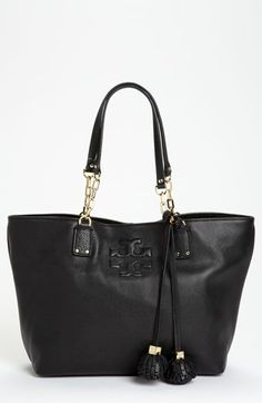 Tory Burch 'Thea - Small' Leather Tote available at #Nordstrom