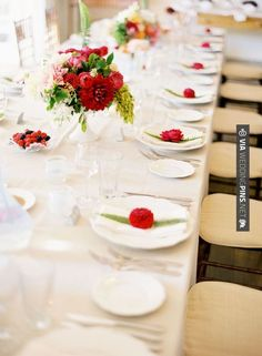 So awesome! - red wedding | CHECK OUT MORE GREAT RED WEDDING IDEAS AT WEDDINGPINS.NET | #weddings #wedding #red #redwedding #thecolorred #events #forweddings #ilovered #purple #fire #bright #hot #love #romance #valentines