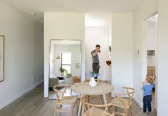 A growing family in Brooklyn downsizes their living space while expanding their collective quality of life.