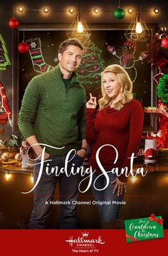 """Its a Wonderful Movie - Your Guide to Family and Christmas Movies on TV: Finding Santa - a Hallmark Channel Original """"Countdown to Christmas"""" Movie starring Jodie Sweetin & Eric Winter! Hallmark Channel, Películas Hallmark, Disney Channel, Films Hallmark, Hallmark Holiday Movies, Family Christmas Movies, Family Movies, Hallmark Ornaments, Christmas Eve"""