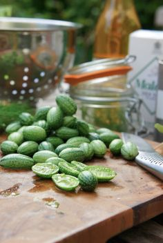 Cucamelons: Easy to grow. Vigorous climber/trailer. Pest and drought resistant. Grape-sized 'watermelons' that taste of cucumber with a tinge of lime. Tastes like: Cucumber & citrus.