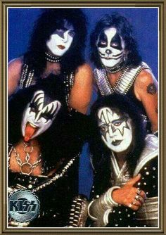 The KISS. Kiss Rock Bands, Kiss Band, Rock And Roll Bands, Rock N Roll, Z Music, Music Bands, Rock Music, Kiss Images, Kiss Pictures