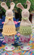 #Crochet bunnies are ready for #Easter!