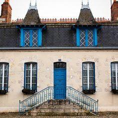 La belle maison bourgeoise. #architecture #maison #briare #Loiret