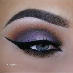 subtle purple look