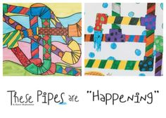 """These Pipes are 'Happening' "" ... the story of how a teacher in Kansas turned broken pipes and a visit from the plumber into an engaging art project her middle-school students loved. From our March 2010 issue. http://pubdev.ipaperus.com/ArtsandActivities/AAMarch2010/?page=34"