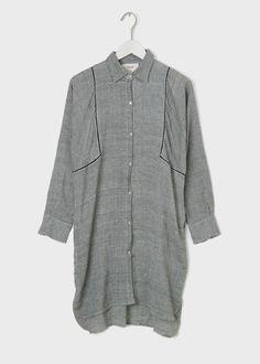 Seek Collective, Stevie Organic Cotton Shirt Dress