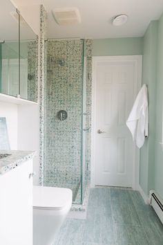 coastal-inspired bathroom by Toni Sabatino