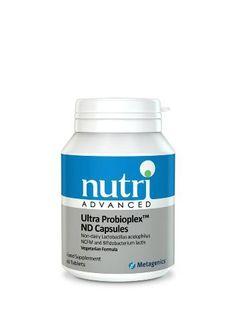 Nutri Advanced Ultra Probioplex Non Dairy 60 Capsules