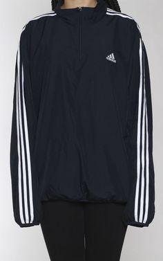 Vintage Adidas Pullover Windbreaker Jacket