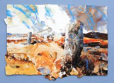 GORS FAWR (PEMBROKESHIRE) 2015, Price: £8200.00, Medium: Mixed Media on paper, Size: 66 X 81 cms