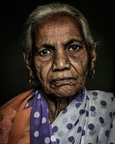 Grandmother - by Gaurav Kay