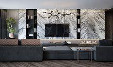 One Bedroom Luxury Apartments . One Bedroom Luxury Apartments . Apartment Interior, Living Room Interior, Living Room Decor, Luxury Home Decor, Luxury Apartments, New Wall, Living Room Designs, Interior Design, Decoration