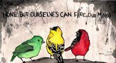 bob marley three little birds tattoo Three Little Birds, Three Birds, Little Bird Tattoos, Tattoo Bird, Bluebird Tattoo, Wrist Tattoo, Music Bird, Bob Marley Art, Sister Tattoos