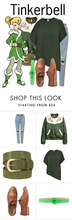 """Tinkerbell"" by blueangel16-001 ❤ liked on Polyvore featuring Topshop, White Stuff, Gap and CAFèNOIR"