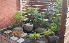garden makeover after shot of tsukubai garden