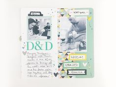 Traveler's notebook layout: D&D nerds – Essie Ruth