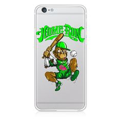 Personalized Custom iPhone 7 Cases Home Run Cool Cartoon