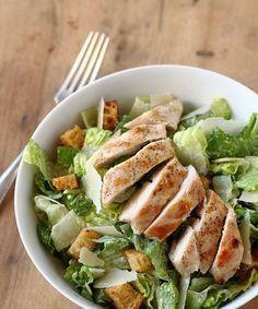 Salada Caeser com Frango