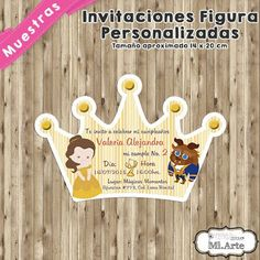 Mi-Arte : Invitaciones de Corona