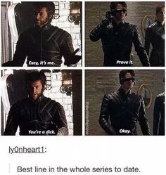 Except for when Wolverine tells Charles and Xavier to go fuck themselves