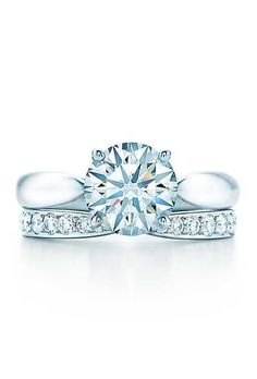 Tiffany Harmony Bead-Set Engagement Ring
