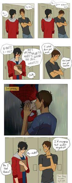 SPIDER-MAN AU IS LIFE