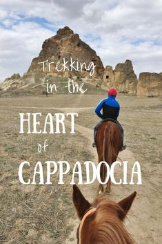 Trekking In Cappadocia - An Alternative To Hot Air Balloons - This Wild Life Of Mine Underground Cities, In The Heart, Hot Air Balloon, Continents, Trekking, Fairy Tales, Balloons, Wildlife, Cappadocia Turkey