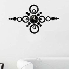 WinnerEco Modern DIY Wall Clock 3D Sticker Design for Home Office Room Decor >>> Startling review available here  : home diy wall